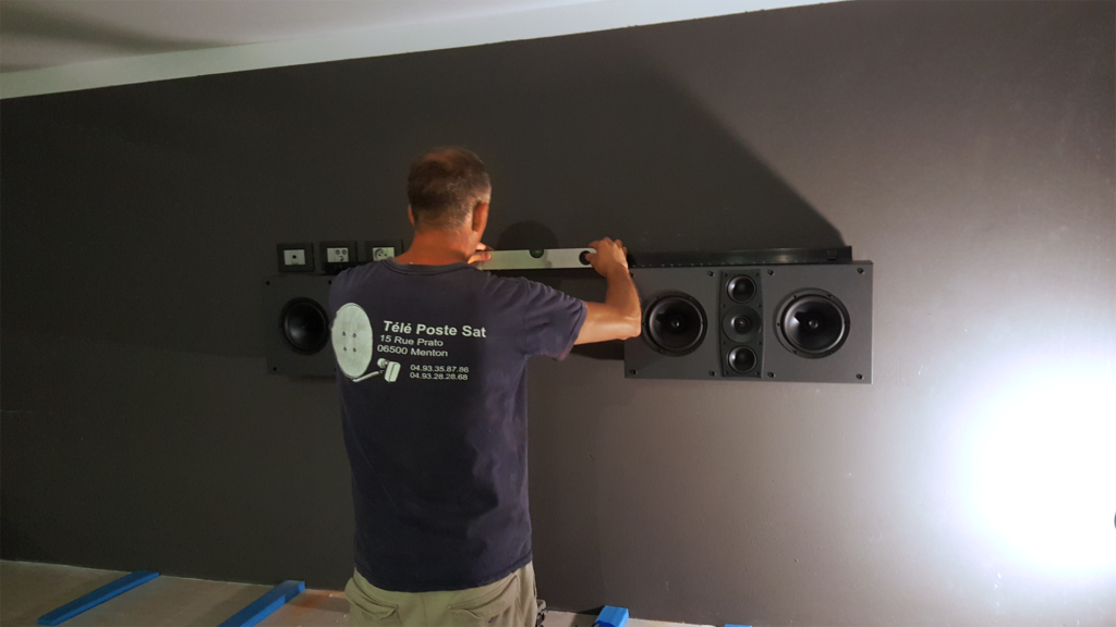 installation home cinema menton TPS