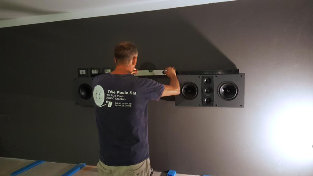 installation home cinema menton TPS